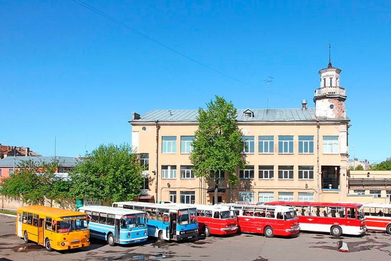 Автобусный парк №1 филиал СПб ГУП «Пассажиравтотранс»