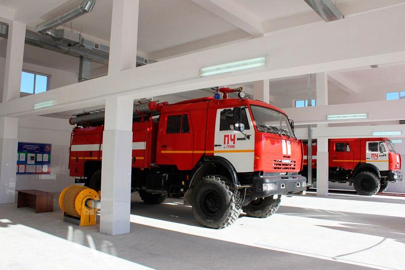 Пожарное депо № 104